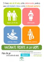 El día 22 de Octubre se inicia la Campaña de Vacunación Antigripal