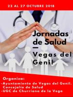 Profesionales sanitarios del centro de salud de Churriana de la Vega organizan junto al Ayuntamiento unas Jornadas de Salud
