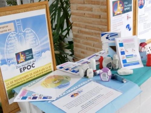 Día Internacional de la EPOC en la UGC Albaycin