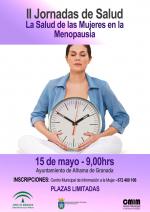 Alhama de Granada organiza sus II Jornadas de Salud el 15 de Mayo