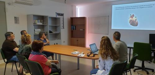 La UGC Churriana de la Vega incorpora la Educación Terapéutica como parte del tratamiento de pacientes con Insuficiencia Cardíaca