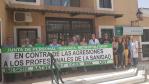 Profesionales de la Unidad Asistencial de Atarfe y del Distrito Sanitario Granada Metropolitano se solidarizan con el profesional celador conductor agredido en el Centro de Salud de Atarfe