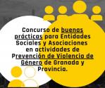 Concurso de buenas prácticas para entidades sociales y asociaciones en actividades de prevención de violencia de género