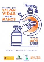 Salva vidas. Límpiate las manos