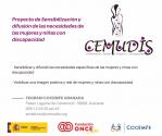 Proyecto de sensibilización y difusión de las necesidades de las mujeres y niñas con discapacidad