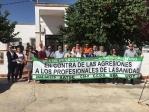 Profesionales de la Unidad de Gestión Clínica de Iznalloz y del Distrito Sanitario Granada Metropolitano se solidarizan con el profesional médico agredido verbalmente en Guadahortuna